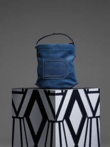 Delvaux Bleu de Prusse Pin Bag