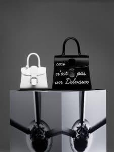 Delvaux Ivory Brillant Mini and Noir L'Humour Brillant MM Bag
