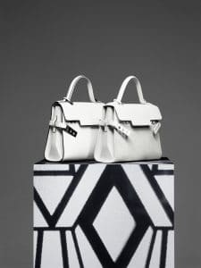 Delvaux Ivory Tempete MM Bags