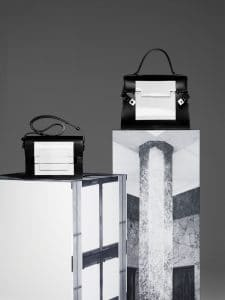 Delvaux Noir/Blanc Madame and Tempete MM Bags