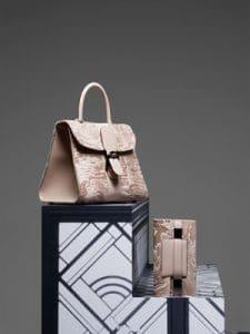 Delvaux Nude Brillant GM and Madame Pochette Bags