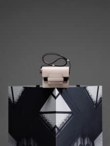 Delvaux Nude Madame Mini Bag