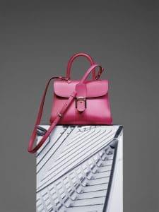 Delvaux Rose Indien Brillant MM Bag