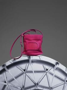Delvaux Rose Indien Pin Mini Bag