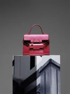 Delvaux Rose Indien Tempete GM and Tempete Micro Bags