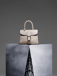 Delvaux Tourterelle Brillant MM Bag