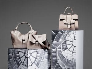 Delvaux Tourterelle Givry Besace/Givry/Tempete GM and Brillant Mini Bags