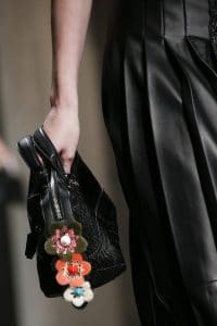 Fendi Black Woven By The Way Bag - Spring 2016