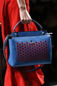 Fendi Blue/Red Dot.Com Bag - Spring 2016
