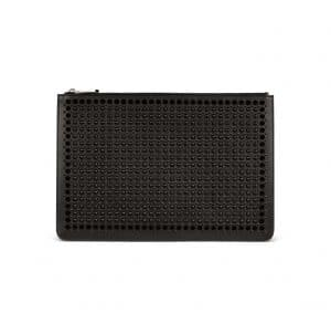 Givenchy Black Studded Large Flat Pouch Bag