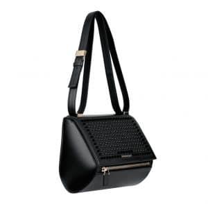 Givenchy Black Studded Pandora Box Medium Bag