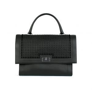 Givenchy Black Studded Shark Medium Bag
