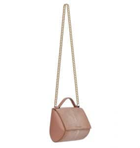 Givenchy Old Pink Galuchat Pandora Box With Chain Mini Bag