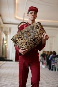 Hill & Friends Leopard Print Hair Calf Happy Handbag - Spring 2016