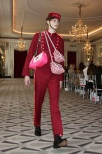 Hill & Friends Pink/Leopard Print Happy Chain and Shoulder Bags - Spring 2016