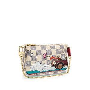 Louis Vuitton Damier Azur Evasion Mini Pochette Accessoires