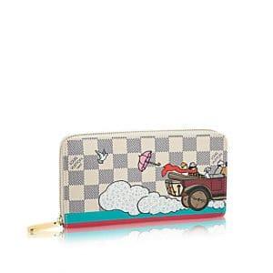 Louis Vuitton Damier Azur Evasion Zippy Wallet