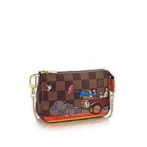 Louis Vuitton Damier Ebene Evasion Mini Pochette Accessoires