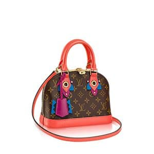Louis Vuitton Flamingo Monogram Totem Alma BB Bag