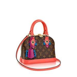 Louis Vuitton Flamingo Monogram Totem Alma BB Bag