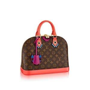 Louis Vuitton Flamingo Monogram Totem Alma PM Bag