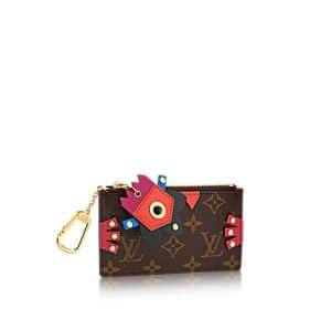 Louis Vuitton Flamingo Monogram Totem Key Pouch