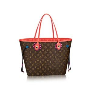 Louis Vuitton Flamingo Monogram Totem Neverfull MM Bag