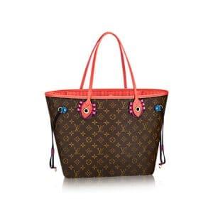 Louis Vuitton Flamingo Monogram Totem Neverfull MM Bag
