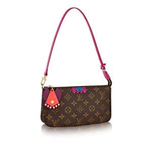 Louis Vuitton Flamingo Monogram Totem Pochette Accesoires Bag