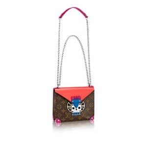Louis Vuitton Flamingo Monogram Totem Pochette Mask PM Bag