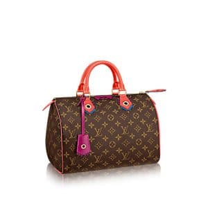 Louis Vuitton Flamingo Monogram Totem Speedy 30 Bag