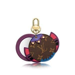 Louis Vuitton Mirror Monogram Totem Bag Charm