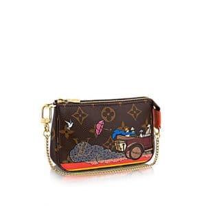 Louis Vuitton Monogram Canvas Evasion Mini Pochette Accessoires
