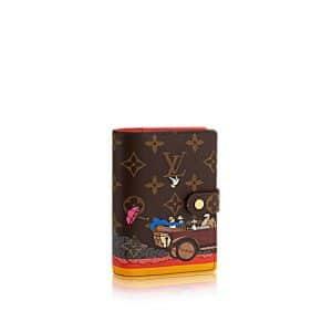 Louis Vuitton Monogram Canvas Evasion Small Ring Agenda Cover