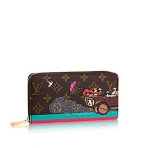 Louis Vuitton Monogram Canvas Evasion Zippy Wallet