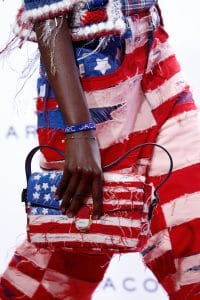Marc Jacobs American Flag Denim Flap Bag - Spring 2016