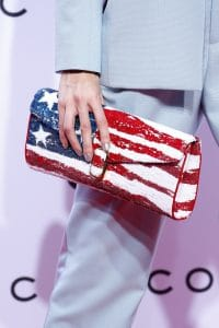 Marc Jacobs American Flag Sequined Clutch Bag - Spring 2016