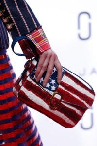 Marc Jacobs American Flag Sequined Python Flap Bag 2 - Spring 2016