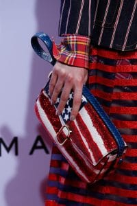Marc Jacobs American Flag Sequined Python Flap Bag - Spring 2016