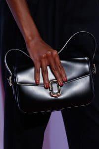 Marc Jacobs Black Flap Bag - Spring 2016