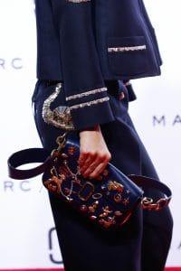 Marc Jacobs Blue Embellished Flap Bag 2 - Spring 2016