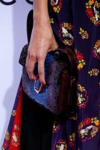 Marc Jacobs Blue/Violet Python Flap Bag - Spring 2016