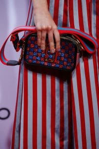 Marc Jacobs Red/Blue Checkered Camera Bag - Spring 2016