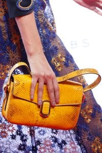Marc Jacobs Yellow Python Flap Bag 2 - Spring 2016