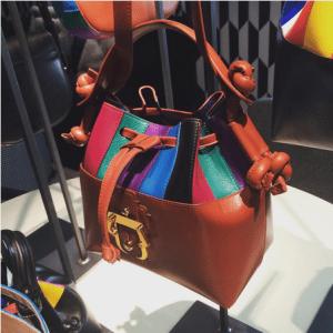 Paula Cademartori Multicolor Secchiello Bag - Spring 2016