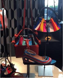 Paula Cademartori Multicolor Striped Secchiello Bags 2 - Spring 2016