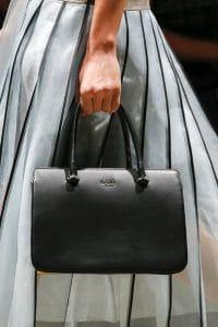 Prada Black Top Handle Bag - Spring 2016