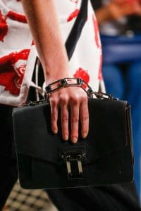 Proenza Schouler Black Flap Bag - Spring 2016