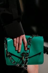 Proenza Schouler Green Flap Bag - Spring 2016