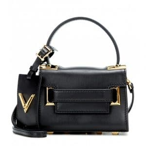 Valentino Black My Rockstud Top Handle Mini Bag